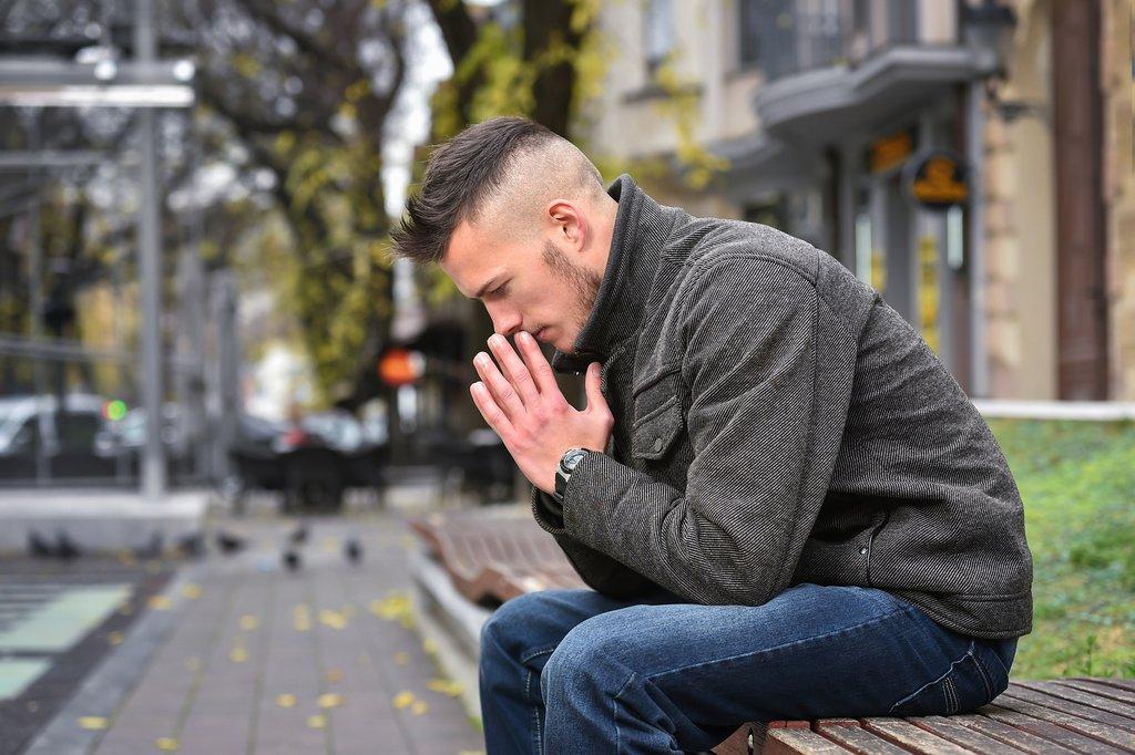 Agitierte Depression (© dobok / stock.adobe.com)