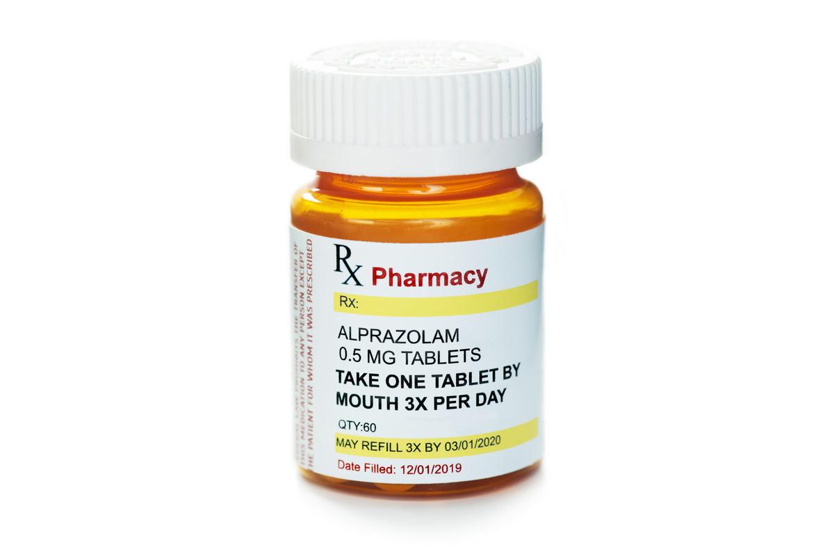 Alprazolam (Xanax, Tafil, Xanor) (© Sherry Young / stock.adobe.com)
