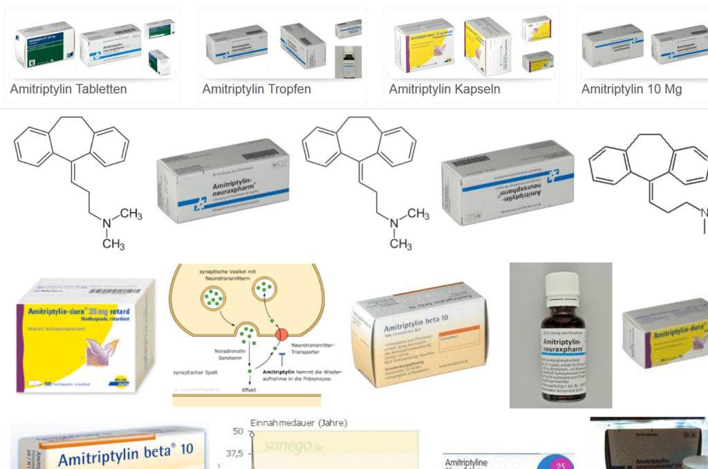 Amitriptylin Tropfen, Tabletten, Kapseln: Neuraxpharm, dura, beta