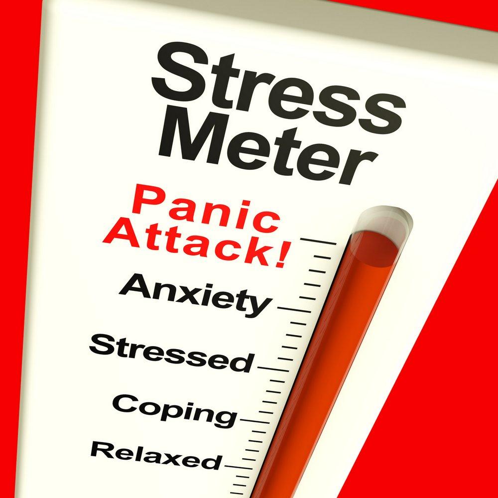Stressbarometer: Angstattacke / Panikattacke (© Stuart Miles / Fotolia)