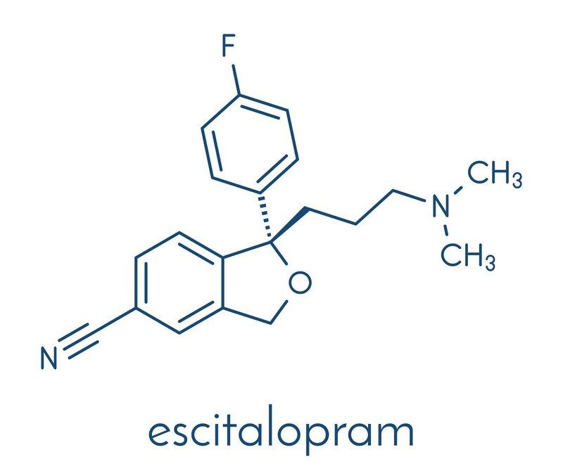 Escitalopram (© molekuul.be / Fotolia)