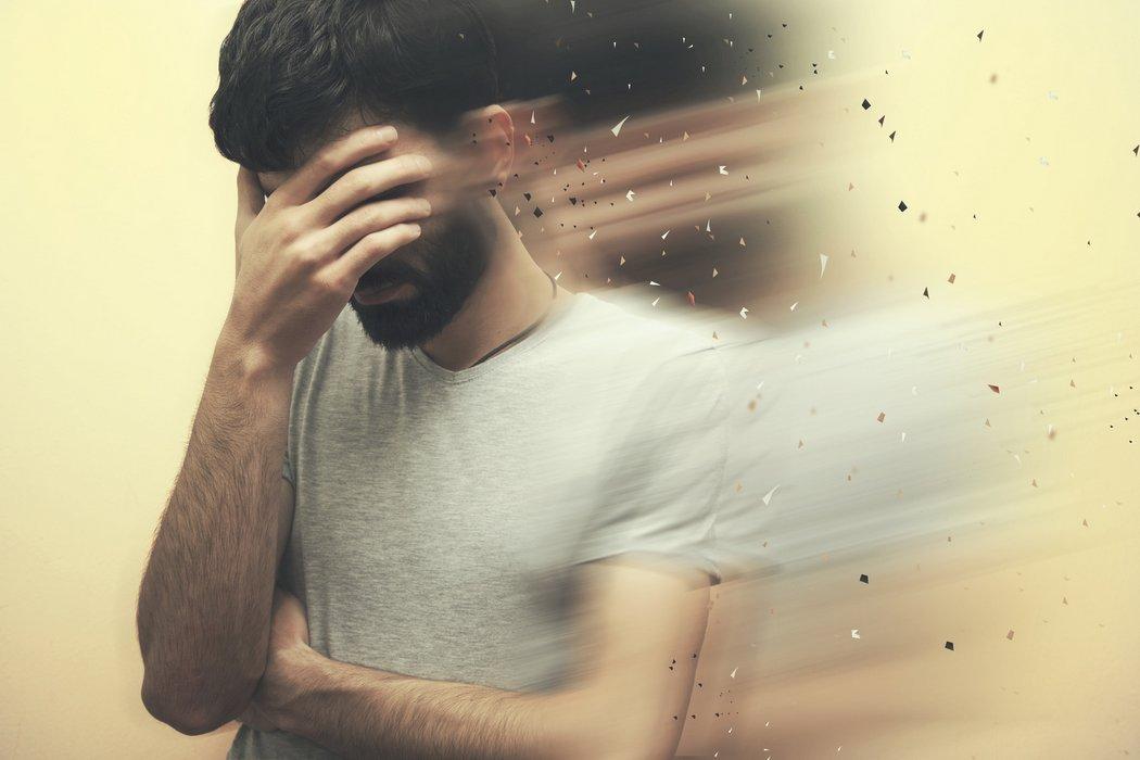 Larvierte Depression (© Tiko - stock.adobe.com)