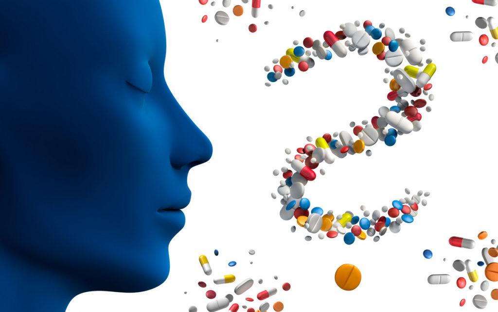 Psychopharmaka Übersicht - Liste der Medikamente mit Wirkung und Nebenwirkungen (© psdesign1 - stock.adobe.com)