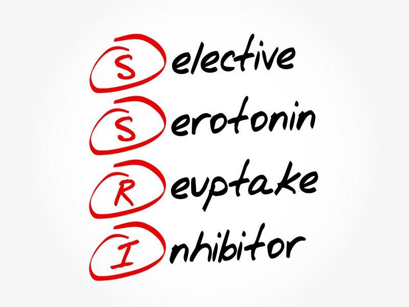 SSRI - die Abkürzung dieser Klasse von Antidepressiva kommt vom englischen Ausdruck Selective Serotonin Reuptake Inhibitor, d.h. selektive Serotonin-Wiederaufnahme-Hemmer (© dizain / Fotolia)